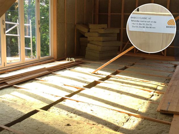 Isolering av väggar och golv, stuganiviken.se